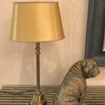 テーブルランプ ゴールド シェード オーバルのサムネイル