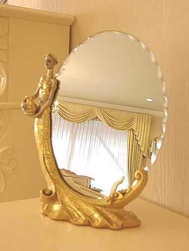 テーブルミラー 置き鏡 L