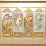絵画 ミュシャ 四季のサムネイル