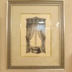 絵画 額装 カーテンスワッグ&テールのサムネイル