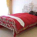 アリスのベッド クィーンサイズ ゴールドアイアン 輸入家具 のサムネイル