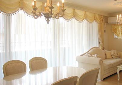 愛知県 S様邸のスタイルカーテンのイメージ