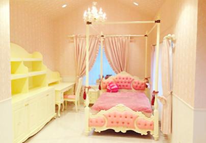 京都府 F様邸のスタイルカーテンのイメージ