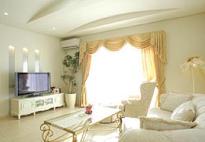 愛知県 N様邸のスタイルカーテンのイメージ