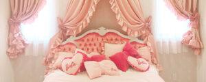 東京都H様邸は上質で本格的な正真正銘のロマンティックインテリアです。