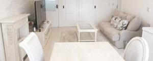 当社がご用意した本格的なシャビーシック家具でコーディネートしたインテリア