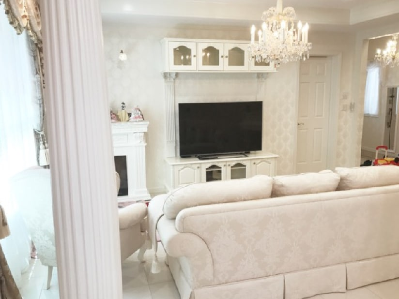 可愛いをコンセプトにした造作家具。お客様が夢見た可愛い家具に囲まれた生活。東京都H様邸