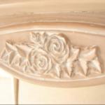 薔薇の彫刻