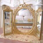 テーブルミラー 三面鏡のサムネイル