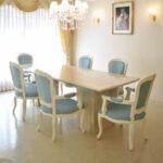 大理石テーブル