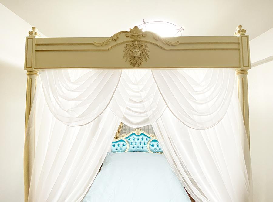 天蓋ベッド
