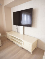 アドニス テレビボードW210cm ロッソ&ゴールド色