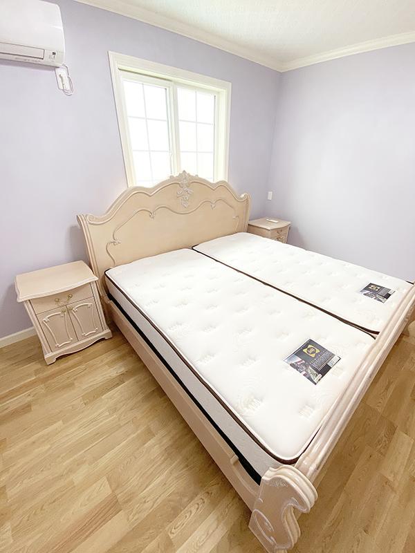 当社定番ベッドをキングサイズで