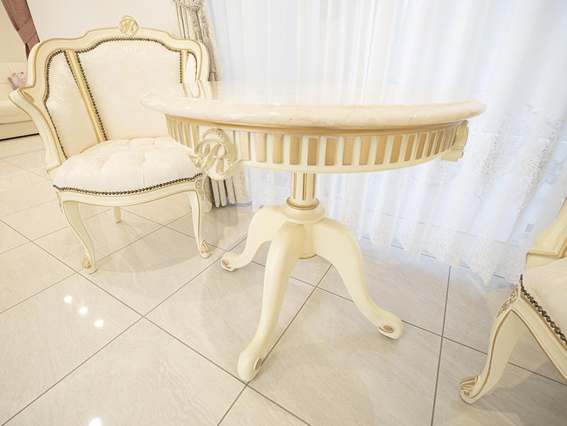 ラウンドテーブル 大理石