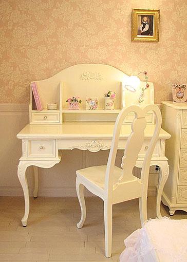 輸入家具 ルイ15世スタイル La Shell ... プリンセス デスク|輸入家具・プリンセス